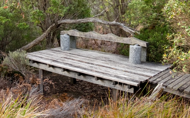 Forest - Temple - Bench - Altar - You & I